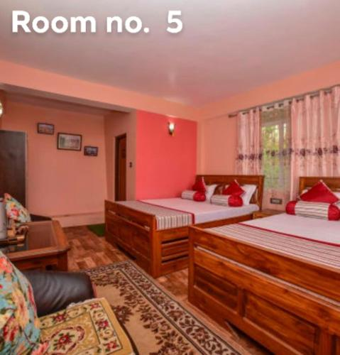 Budget Double or Twin Room on B&B for 4 Pax